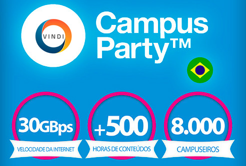 VINDI na Campus Party 2014