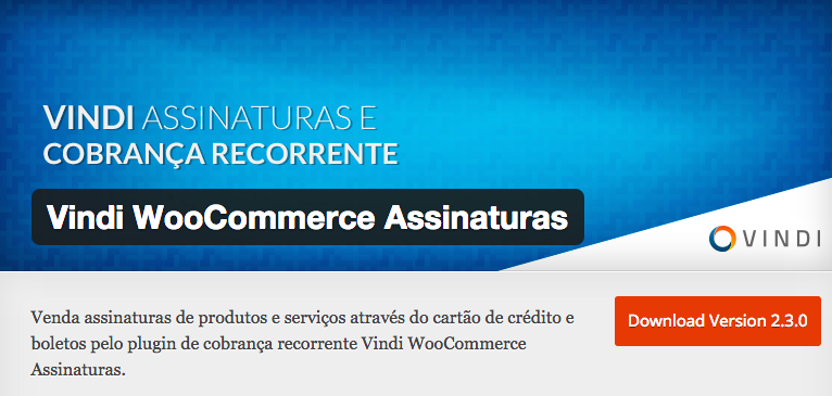 WooCommerce Assinaturas Vindi
