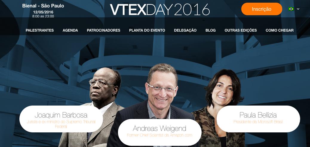 VTEXDAY 2016 – Fórum Assinaturas