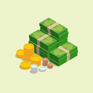 Meio de pagamento: dinheiro
