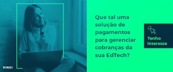 Banner que, ao clicar, será direcionado para uma Landing Page sobre EdTech.